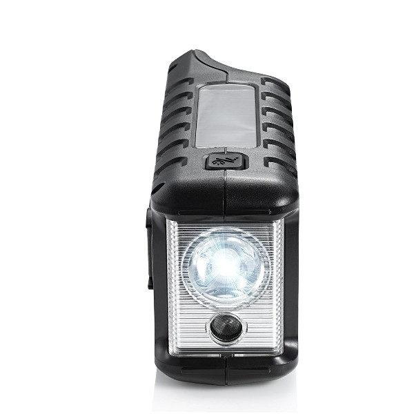 Midland Emergency Crank Weather Radio flashlight