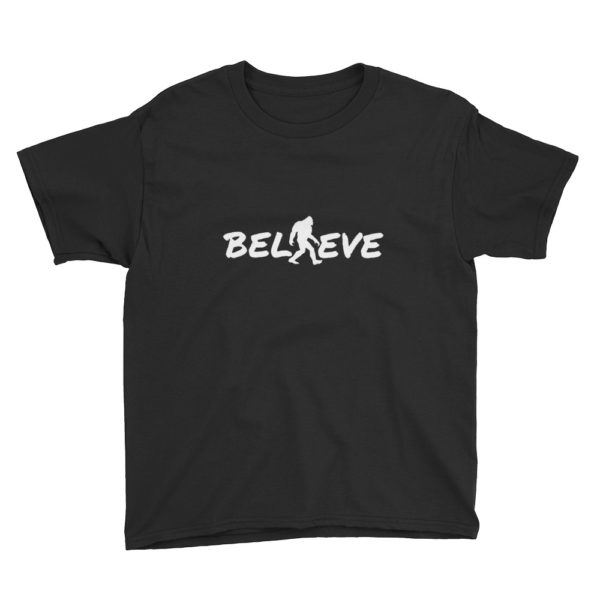Believe Kids Tshirt in Black