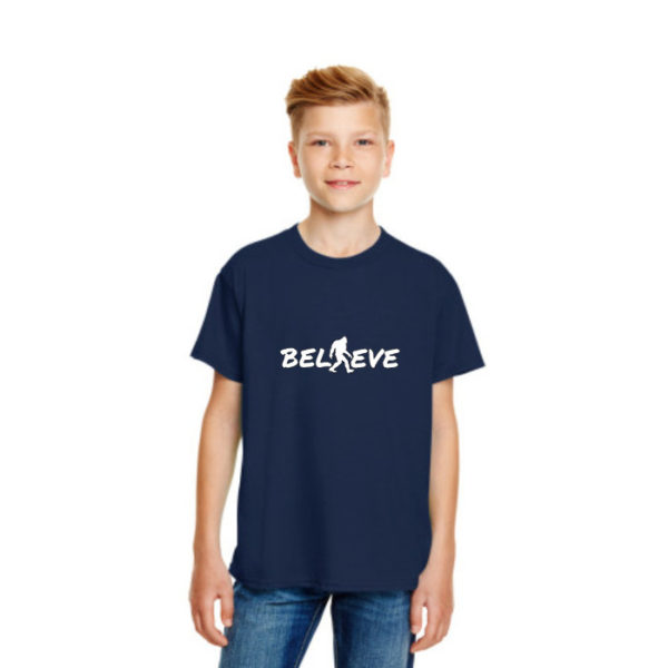Believe Kids Tshirt in Navy