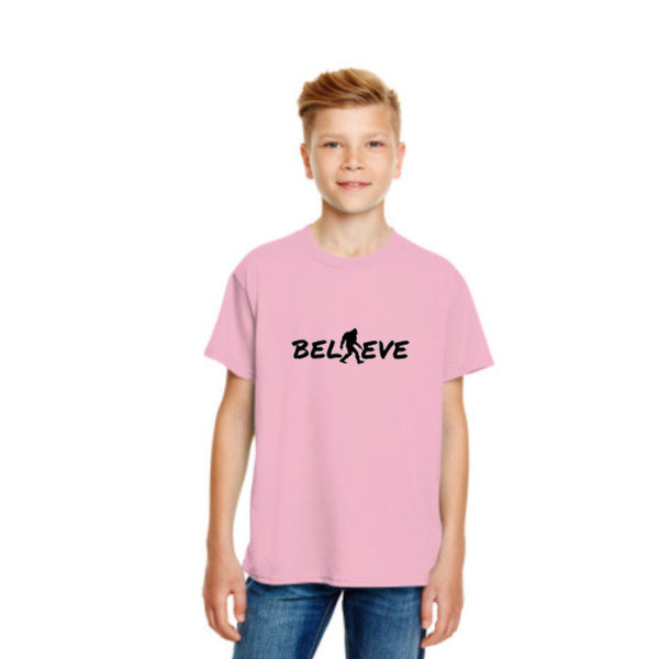 Believe Kids Tshirt in Pink
