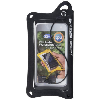 Sea to Summit TPU Audio Waterproof Case for Smartphones in Black