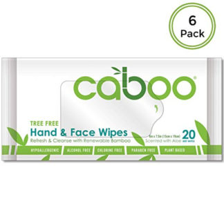 Caboo Tree-Free Bamboo Hand and Face Wipes