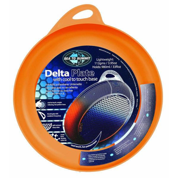Sea to Summit Delta Plate in Orange