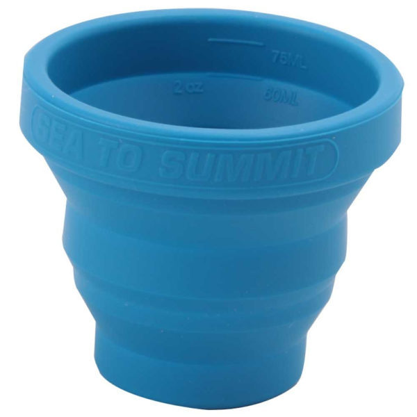 Sea to Summit X-Shot Glass and Espresso Cup in Blue
