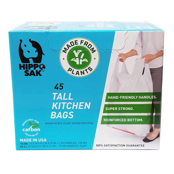 Hippo Sak Tall Kitchen Trash Bags with Handles