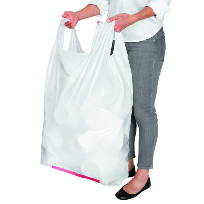 Hippo Sak Tall Kitchen Trash Bags with Handles with model