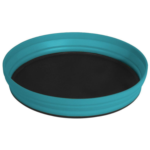 Sea to Summit Collapsible X Plate in Pacific Blue