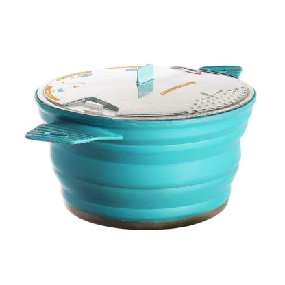 Sea to Summit Collapsible X-Pot in Pacific Blue
