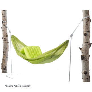 Big Agnes Goose Creek Deluxe Hammock in Green