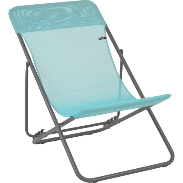 Lafuma Maxi Transat Folding Sling Chair in Lac