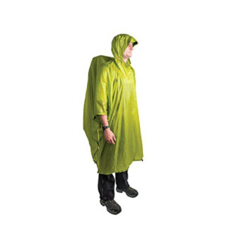 Sea to Summit Ultra-Sil Nano Tarp Poncho in Lime