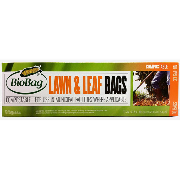 BioBag 33-Gallon Biodegradable Lawn and Leaf Bags