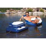 Intex Mega Chill II Inflatable Floating Cooler in river