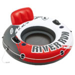 Intex River Run I Inflatable Float Lounger in red