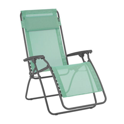 Lafuma R Clip Lounge Chair in Menthol Green