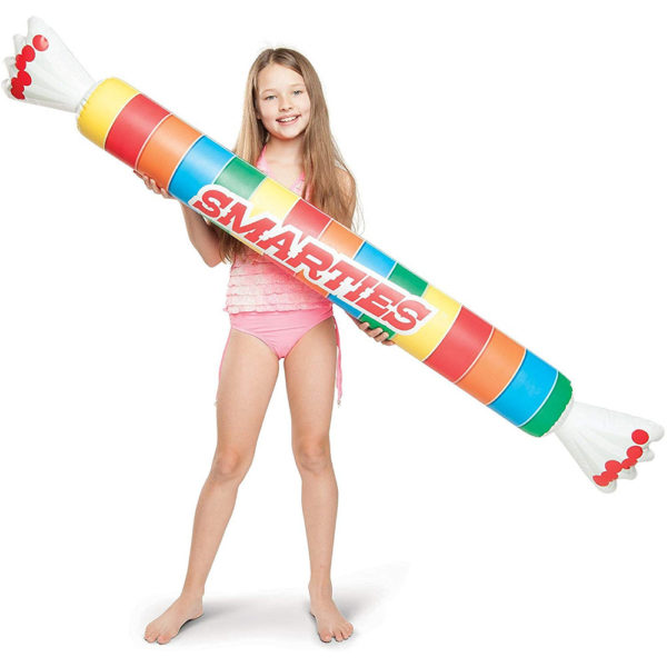 Smarties Noodle Pool Float Lounger with child