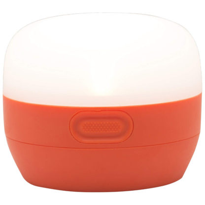 Black Diamond Moji Lantern in Vibrant Orange
