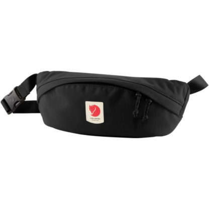 Fjällräven Ulvo Fanny Pack in Black