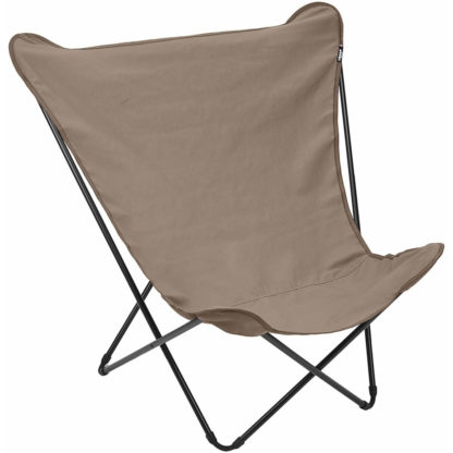 Lafuma Pop Up XL Butterfly Lounge Chair in Gres