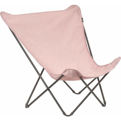 Lafuma Pop Up XL Butterfly Lounge Chair in Rose