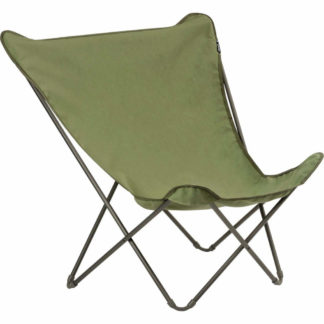 Lafuma Pop Up XL Butterfly Lounge Chair in Vert Kaki