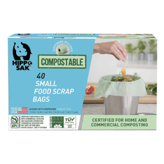 Hippo Sak Compostable Small Food Scrap Bags