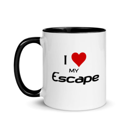 I Love My Escape Mug