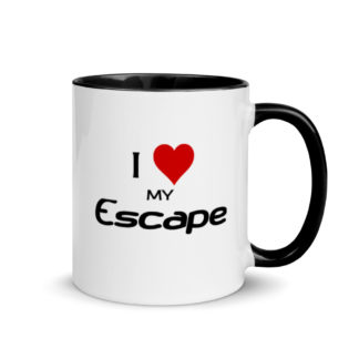 I Love My Escape Mug