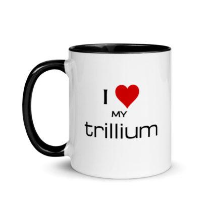 I Love My Trillium Mug
