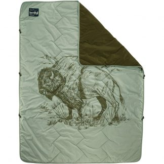 Therm-a-Rest Stellar Blanket Bison print
