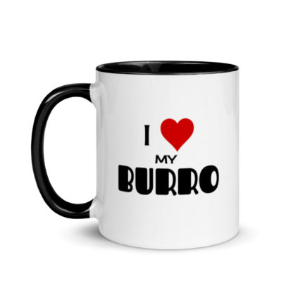 I Love My Burro Mug