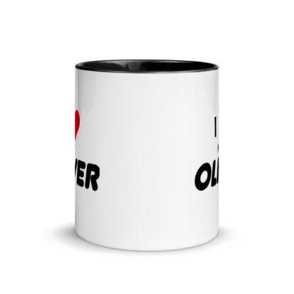 I Love My Oliver Mug