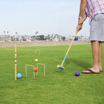 GoSports Six Player Full Size Croquet Set