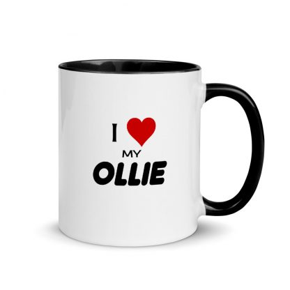 I Love My Ollie Mug