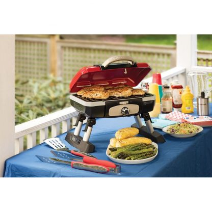Cuisinart Petit Gourmet Portable Tabletop Gas Grill