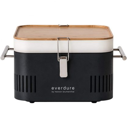 Everdure by Heston Blumenthal CUBE Portable Charcoal Grill in Graphite