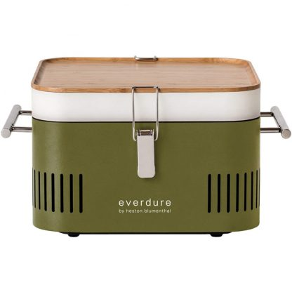 Everdure by Heston Blumenthal CUBE Portable Charcoal Grill in Khaki