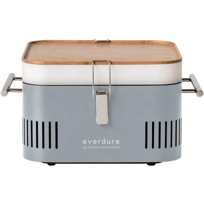 Everdure by Heston Blumenthal CUBE Portable Charcoal Grill in Stone