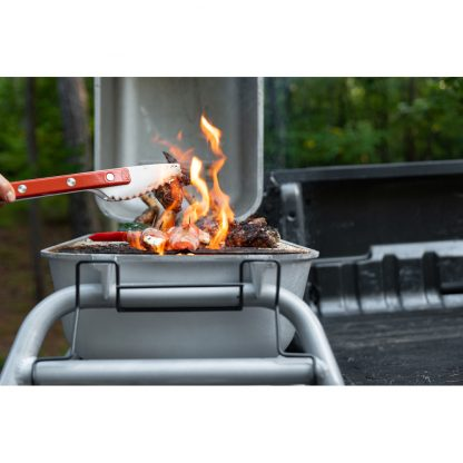 PKGO Portable Aluminum Charcoal Grill and Smoker