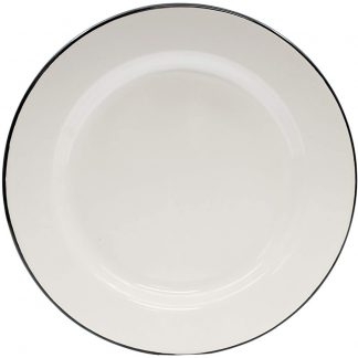 Tablecraft Enamelware Large Dinner Plate