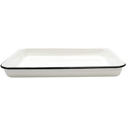 Tablecraft Enamelware Serving Tray