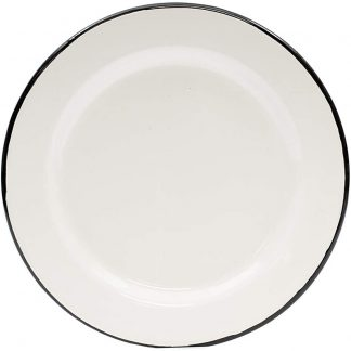 Tablecraft Enamelware Small Dinner Plate