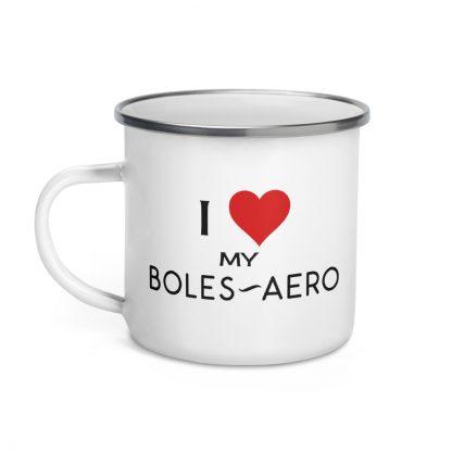 I Love My Boles Aero Enamel Mug