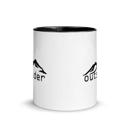 Outsider Ceramic Mug front view