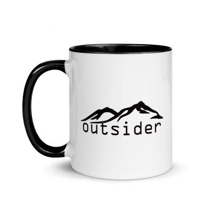 Outsider Ceramic Mug left view