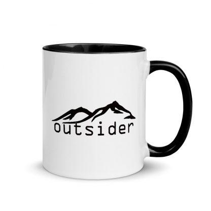 Outsider Ceramic Mug right view