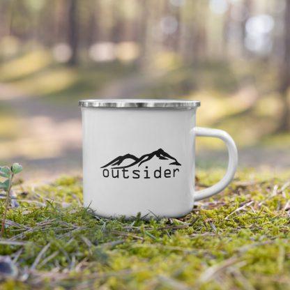 Outsider Enamel Mug