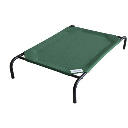 The Original Elevated Pet Bed by Coolaroo in Brunswick Green