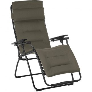 Lafuma Futura Air Comfort Zero Gravity Lounge Chair in Taupe