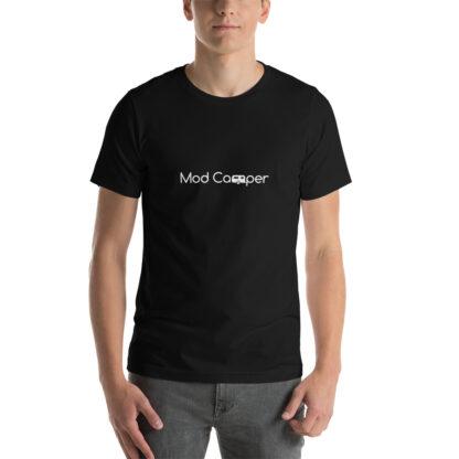 Mod Camper Logo Unisex T-shirt in Black